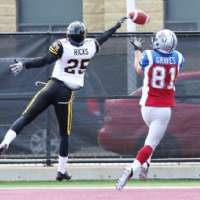 Canadian trying to make transition from college QB to pro receiver