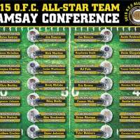 2015 OFC All Star Team Ramsay Conference