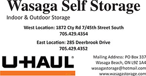 Wasaga Self Storage UHaul